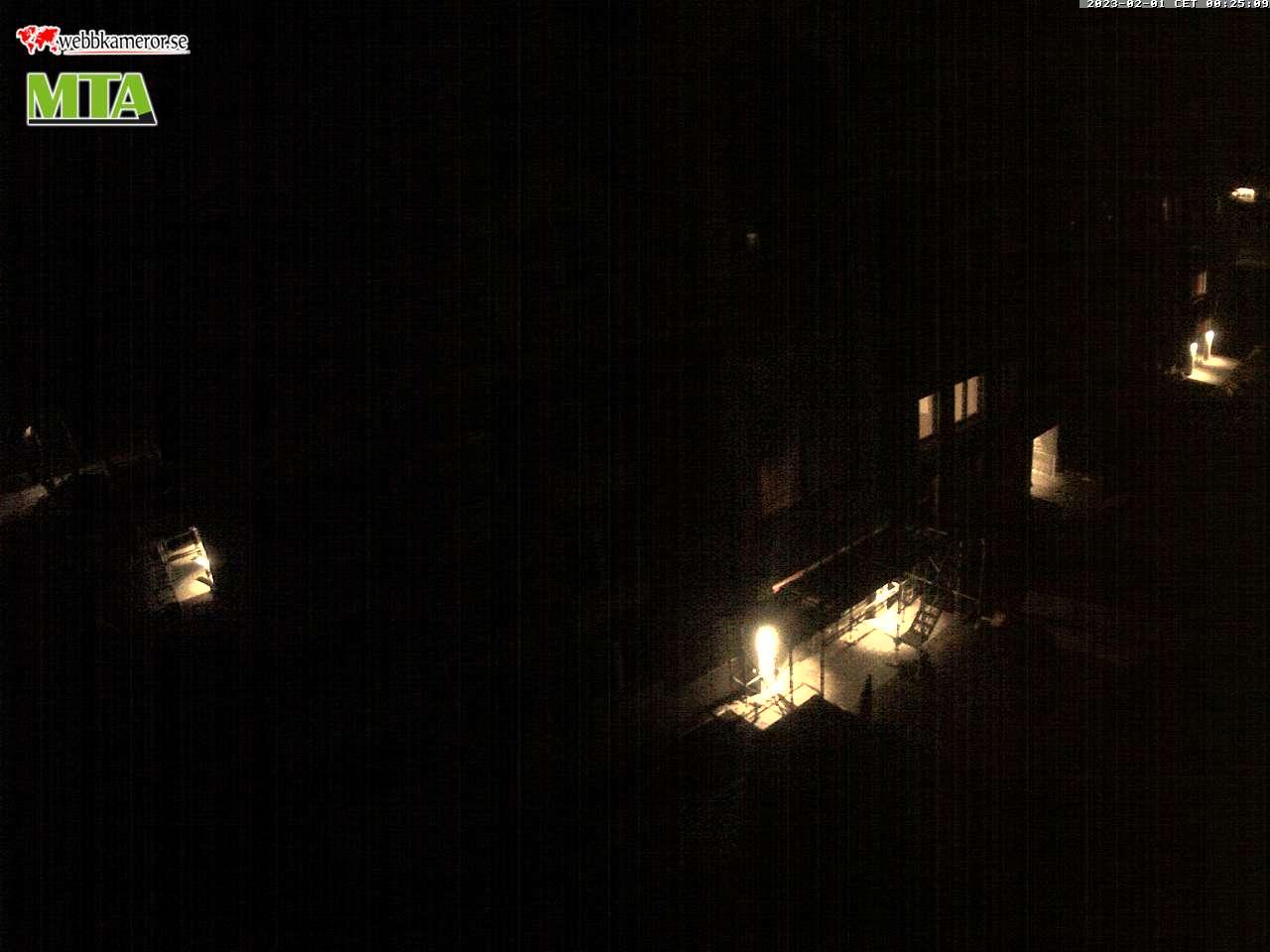 Webbkamera från bygget