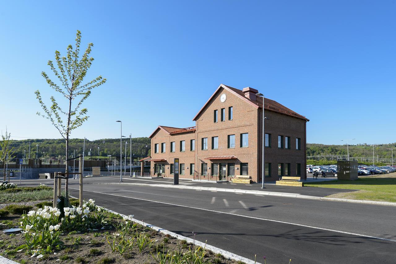 Bastad Station Karta.Bastads Nya Jarnvagsstation Mta Bygg Och Anlaggning